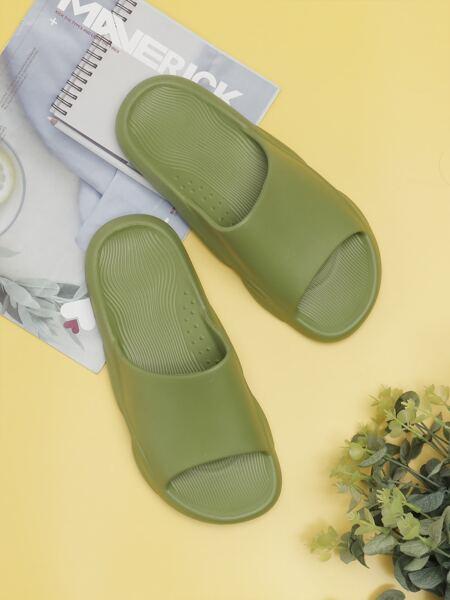 Minimalist Open Toe Slides