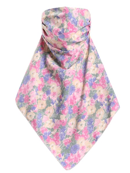 Flower Print Sun Protection For The Face