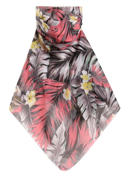 Floral Print Sun Protection For The Face