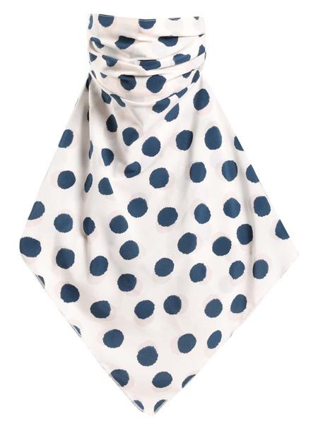 Polka Dot Print Sun Protection For The Face