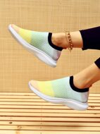 Color Block Running Shoes