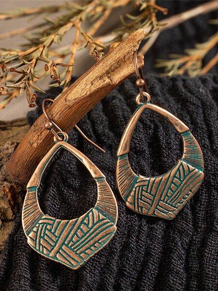 Vintage Geometric Earrings