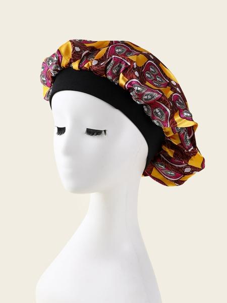Graphic Hair Bonnet