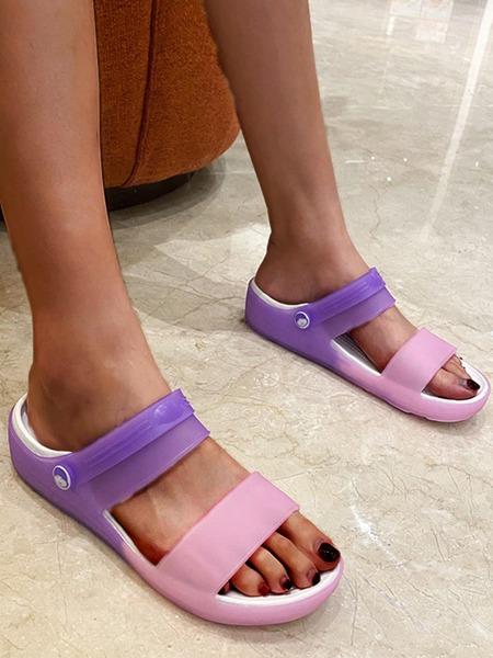 Two Tone Two Way Wear Slides