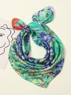 1pc Graphic Scarf