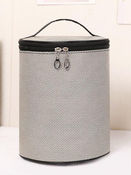 Cylinder Makeup Bag