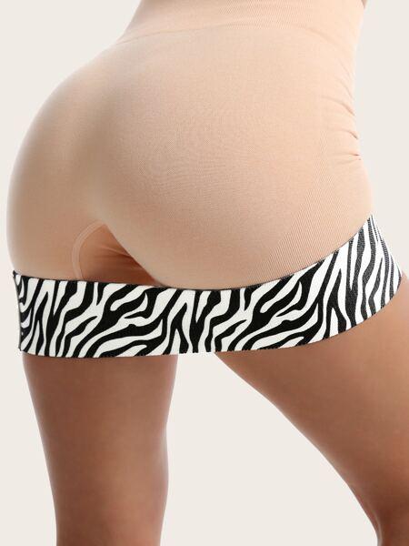 Zebra Striped Workout Resistance Band