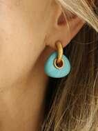 Turquoise Decor Earrings