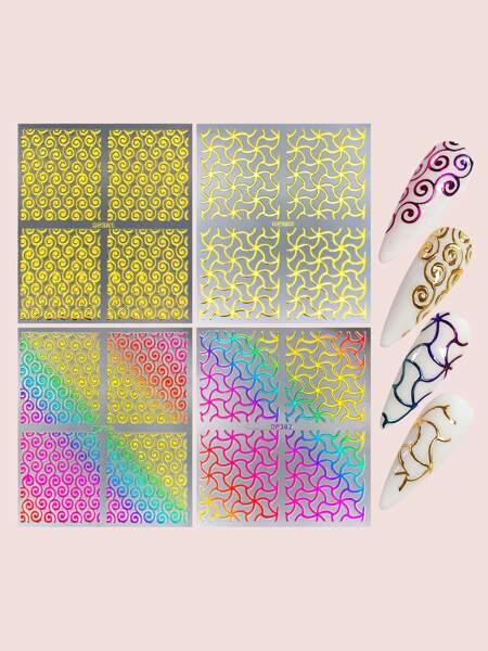 4sheets Graphic Nail Art Sticker