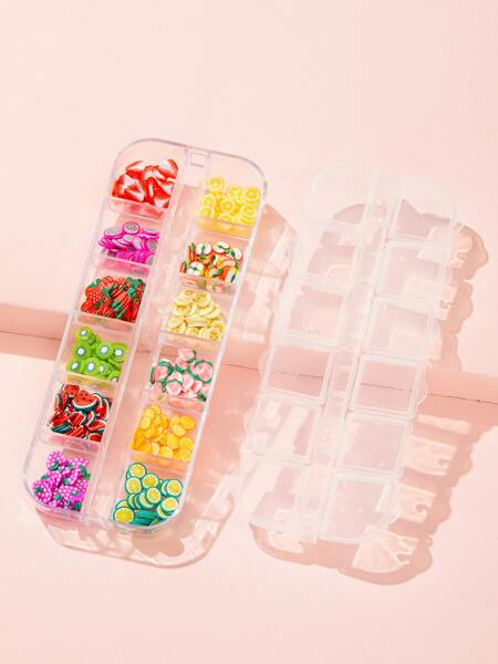 1box Fruit Nail Art Decoration