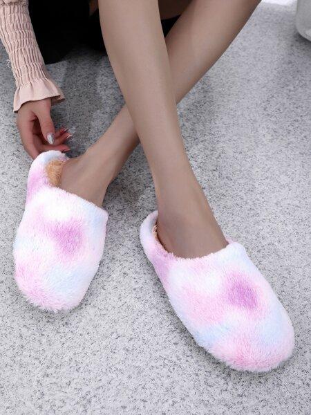 Tie Dye Bedroom Slippers