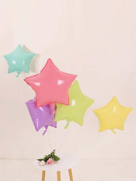 5pcs Star Shaped Random Balloon
