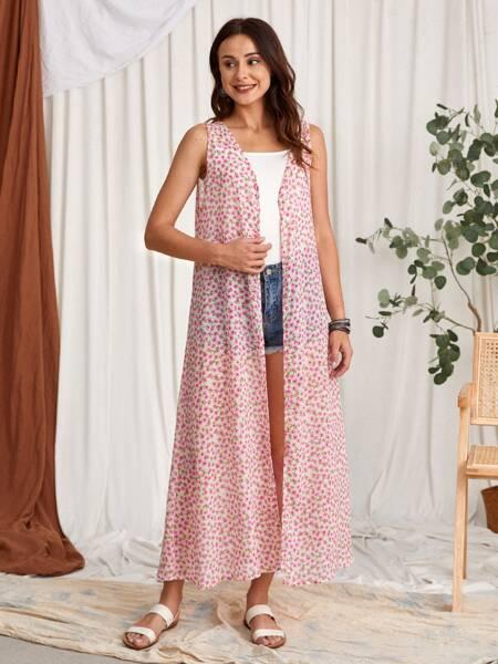 Ditsy Floral Kimono
