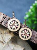 Rhinestone Decor Earrings