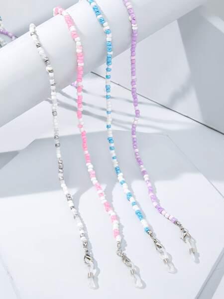 4pcs Beaded Glasses Chain