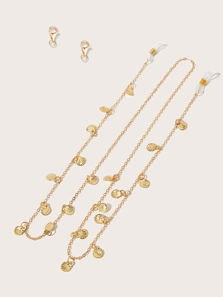 Shell Charm Face Mask Chain