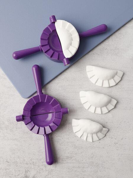 1pc Plastic Dumpling Mold