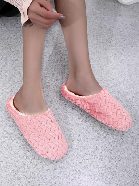 Round Toe Bedroom Slippers