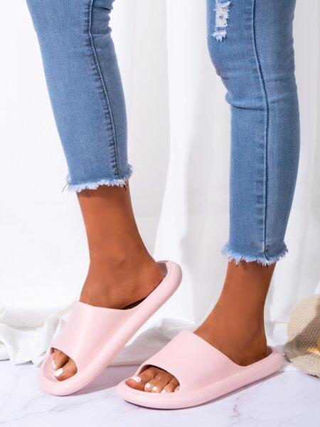 Open Toe Minimalist Slides