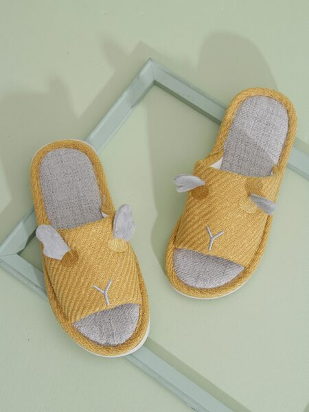Cartoon Design Novelty Slippers