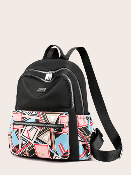 Geo Pattern Backpack