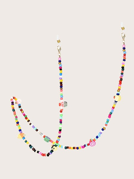 Beaded Face Mask Chain