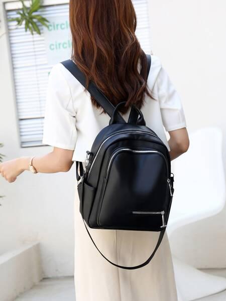 Men Minimalist Functional Backpack