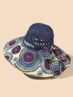 Graphic Hollow Out Hat