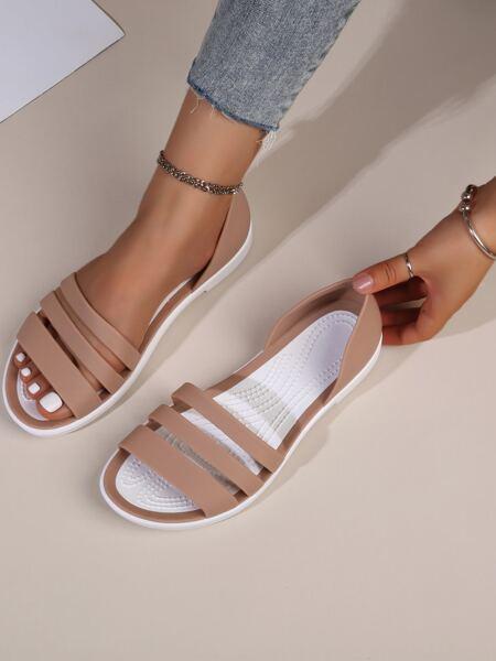 Minimalist Open Toe Sandals