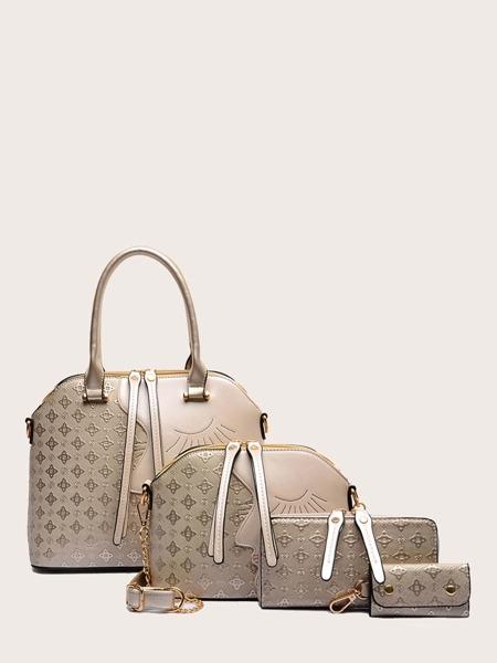 4Pcs Bronzing Bag Set