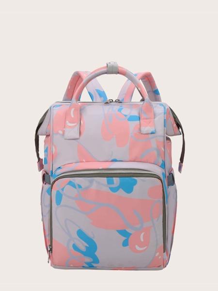 Color Block Diaper Bag