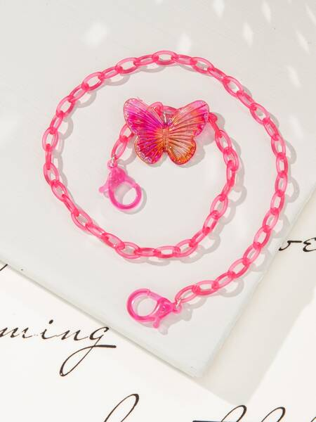 Butterfly Decor Face Mask Chain