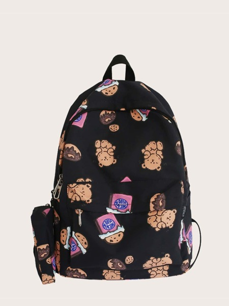 Cartoon Graphic Classic Backpack