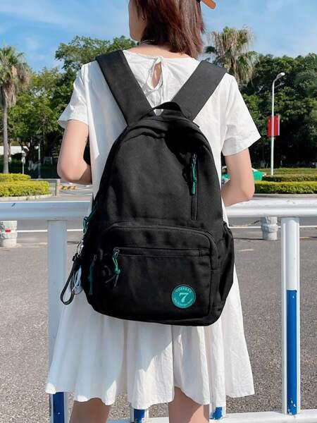 Minimalist Pocket Front Functional Backpack