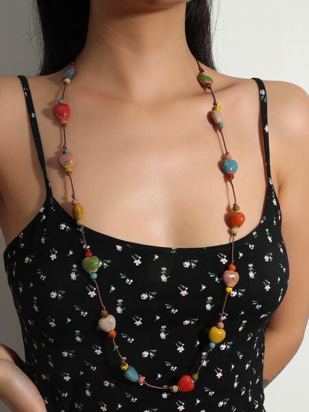 Bead Decor Necklace