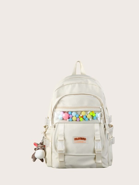 Clear Detail Large Capacity School Bag