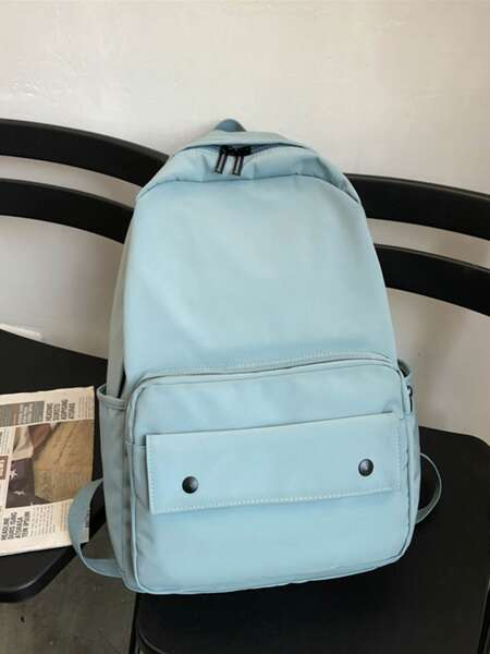 Minimalist Pocket Front Backpack