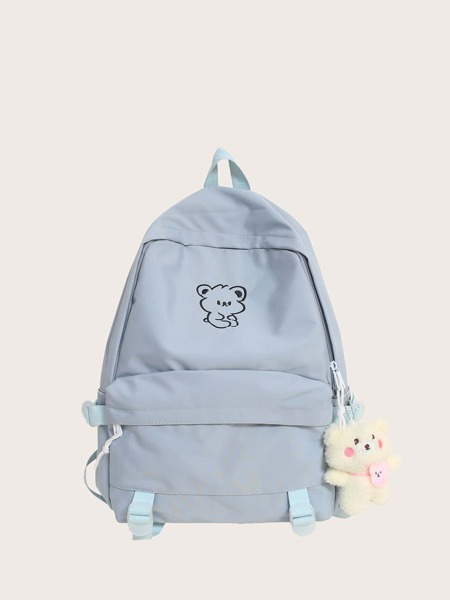 Doll Decor Cartoon Graphic Classic Backpack