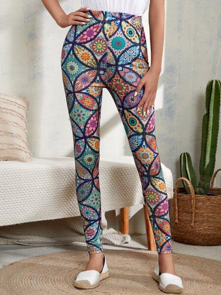 Allover Print Leggings