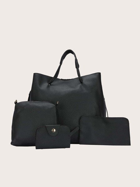 4pcs Minimalist Bag Set