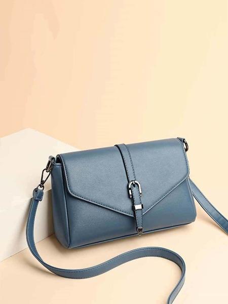Buckle Design Crossbody Bag