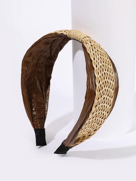 Two Tone Wide Headband