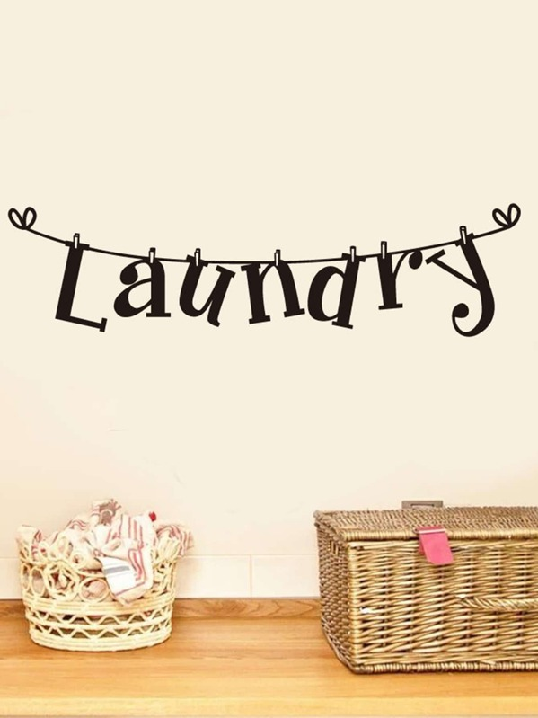 Laundry Wall Sticker