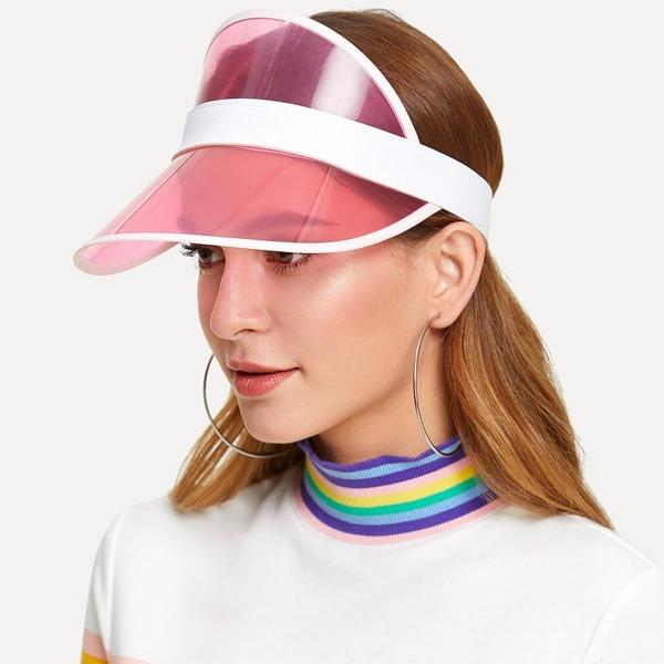 Two Tone Visor Hat