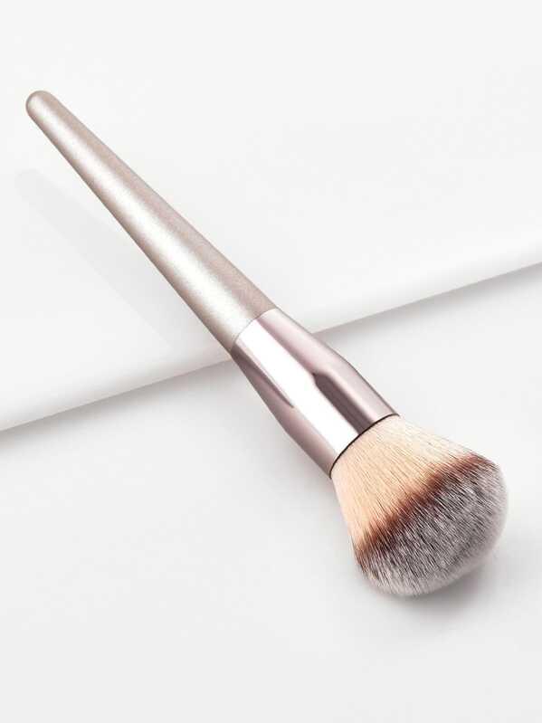 Metallic Handle Powder Brush, null
