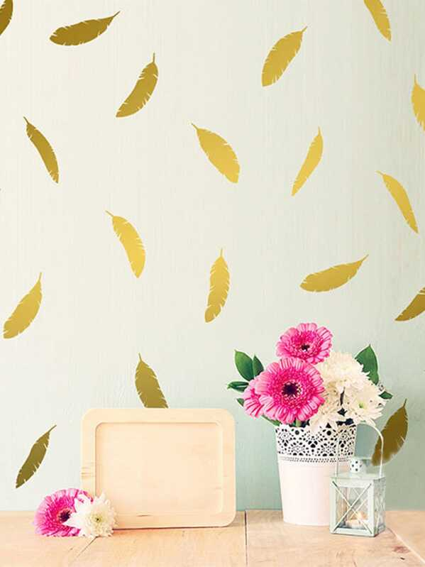 Feather Wall Sticker Pack