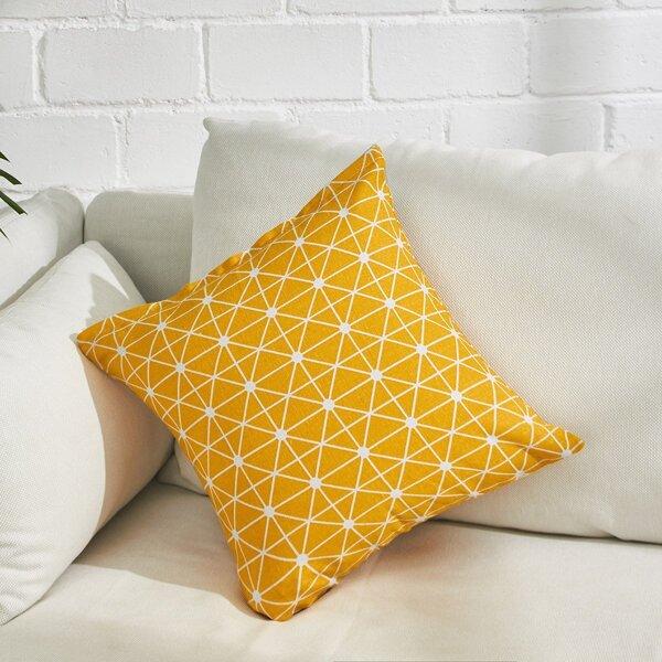 Allover Plaid Print Pillowcase