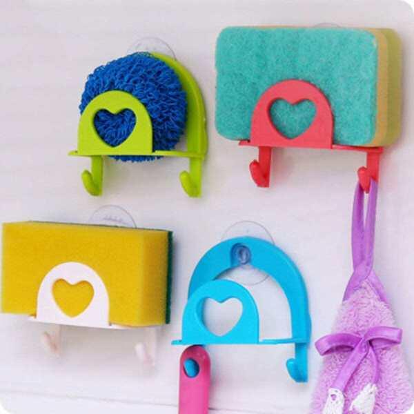 Random Color Suction Soap Holder 1pc