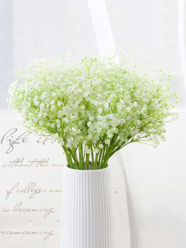 Artificial Baby Breath 1pc With 6pcs Branches