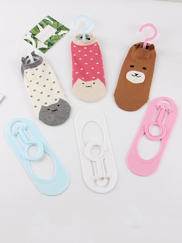 Random Color Socks Hanger 2pcs